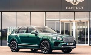 Mulliner presenta unas nuevas llantas de carbono para el Bentley Bentayga