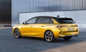 El futuro Opel Astra Sports Tourer 2022 se presenta en este fiel render