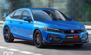 Nuevos renders del radical Honda Civic Type R que será presentado en 2022