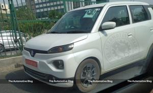 El nuevo coche eléctrico de Suzuki llegará en 2023 y ha sido cazado sin camuflaje