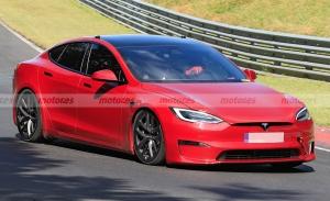 ¿A por un nuevo récord? El Tesla Model S más radical es cazado en Nürburgring