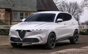 El esperado Alfa Romeo Tonale, al descubierto en esta nueva recreación