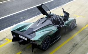 El Aston Martin Valkyrie se convierte en un descapotable de 1.155 CV y 350 km/h