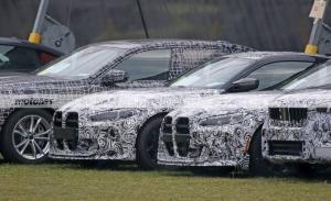 Nuevas fotos espía del BMW M4 CSL 2022 descubren una imagen más brutal