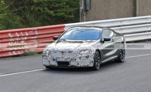 El BMW Serie 8 Coupé 2022 Facelift, cazado de pruebas en Nürburgring