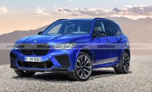 Adelanto del nuevo BMW X5 Competition 2022, descubrimos la imagen del SUV deportivo
