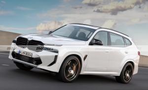 Nuevo render del futuro BMW X8 2023, el adelanto de un super SUV deportivo