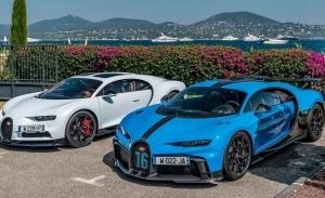 El Bugatti Chiron Super Sport, a la caza de nuevos clientes en la Costa Azul