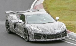 El Chevrolet Corvette Z06 pierde camuflaje durante sus tests a fondo en Nürburgring