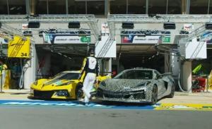 El Chevrolet Corvette Z06 se presenta en Le Mans para anunciar su llegada
