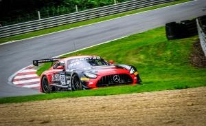 Doble pole para el Mercedes #88 de Marciello y Boguslavskiy en Brands Hatch