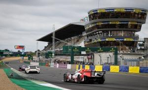 Doblete de los Toyota GR010 Hybrid en el warm up de las 24 Horas de Le Mans