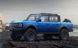 Un informe revela que Ford ha cancelado la variante pick-up del Bronco
