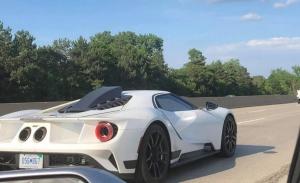 Cazado un misterioso prototipo del Ford GT con nueva aerodinámica más radical