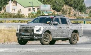 Primeras imágenes del nuevo Ford Ranger británico, cazado por primera vez en Europa