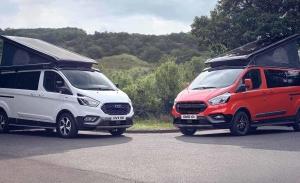 Las furgonetas camper Ford Transit Custom Nugget estrenan los modelos Active y Trail