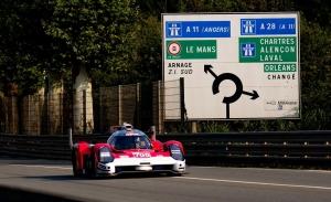 El Glickenhaus #708 es el hypercar más rápido en el test de Le Mans