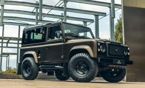 Heritage Customs devuelve la vida al icónico Land Rover Defender V8