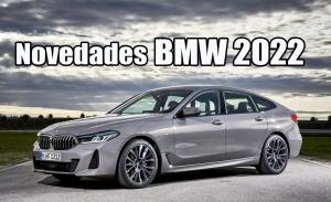 BMW presenta nuevas versiones y equipamientos en su gama para 2022