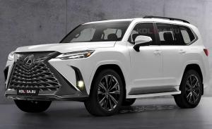 El nuevo Lexus LX, la alternativa de lujo al Toyota Land Cruiser, retrasa su llegada