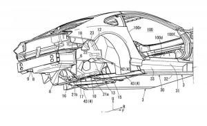 Filtradas las patentes de una nueva estructura trasera sobre el Mazda RX-Vision