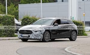 El Mercedes Clase A PHEV Facelift 2022, cazado nuevamente en fotos espía