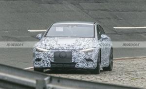 Nuevas fotos espía del Mercedes EQE 2022, el segundo eléctrico se destapa