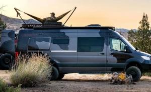 El Mercedes Sprinter se convierte en una camper para amantes de la caza y la aventura
