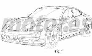 Filtrado del registro de patentes el Porsche Taycan Cross Sedan