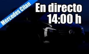 Sigue en directo la presentación de los nuevos Mercedes Citan y eCitan