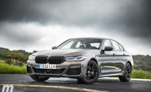 Prueba BMW Serie 5 2021, un Serie 7 a pequeña escala