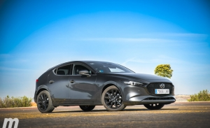 Prueba Mazda3 e-Skyactive X, el mayor de los galanes