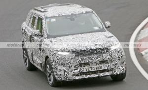 El nuevo Range Rover Sport SVR 2023, cazado en el circuito de Nürburgring