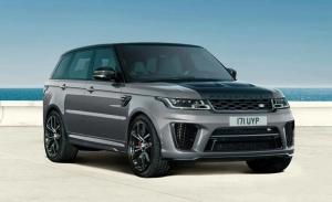El Range Rover Sport SVR Carbon Edition llega a Pebble Beach 2021