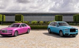 Rolls-Royce presenta dos sugerentes Ghost y Cullinan en Monterey