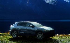El Subaru Solterra, un nuevo SUV eléctrico, al descubierto en estos adelantos oficiales