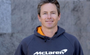Tanner Foust, piloto masculino de McLaren en su proyecto en Extreme E