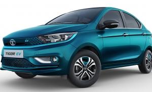 Tata Tigor EV, se destapa en la India un nuevo coche eléctrico de precio asequible