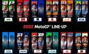 La parrilla de la temporada 2022 de MotoGP todavía tiene cuatro plazas libres