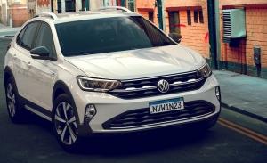 Brasil - Julio 2021: El Volkswagen Taigo brasileño gana popularidad