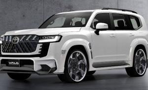 El nuevo Toyota Land Cruiser 2022 será radicalizado por Wald International