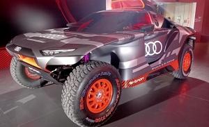 Audi presenta el RS Q e-tron de Carlos Sainz para el Dakar 2022