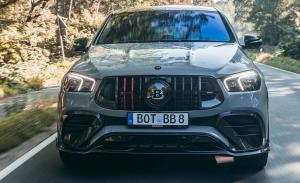 BRABUS transforma al Mercedes-AMG GLE 63 Coupé en un SUV sin rival