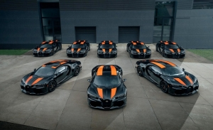 Bugatti presenta los primeros ejemplares fabricados de la variante más rápida del Chiron