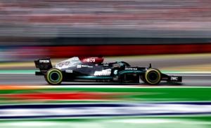 Mercedes sigue intratable en el calentamiento de los últimos libres en Monza