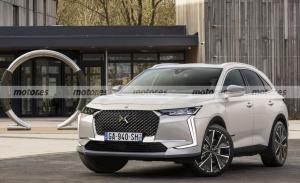 Adelanto del DS 7 Crossback Facelift 2022, el SUV francés se renueva
