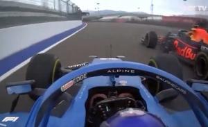 La exhibición que no se vio en TV: Alonso con slicks sobre mojado, de 6º a 3º
