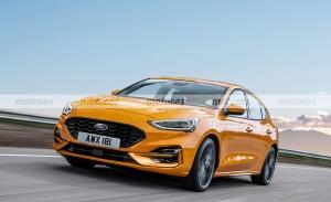 Nuevo adelanto más fiel del Ford Focus Facelift 2022, ahora más deportivo