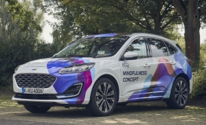 El Ford Mindfulness Car Concept es un escaparate de tecnologías de confort