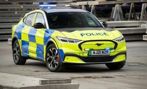El Ford Mustang Mach-E tendrá versión policial en el Reino Unido